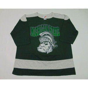 Vintage 90s Artex XL Michigan Spartans Shirt USA